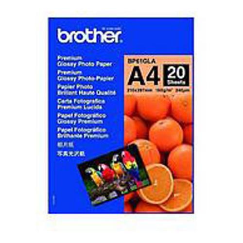 Brother BP61GLA BP61GLA Innobella A4 Premium Glossy Photo Paper (20 Sheets)