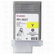Canon 0898B001AA PFI-102Y Yellow Ink Cartridge (130ml)