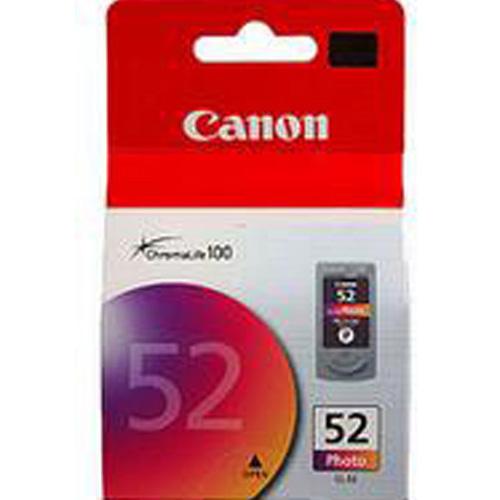 Canon 0619B001 CL-52 Photo Ink Cartridge (Colour) (490 pages)