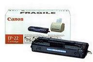 Black EP-22 Toner Cartridge - 2500 pages
