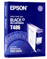 Epson C13T486011 Black T486 Ink Cartridge (110ml)