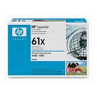 HP C8061X 61X Black Toner Cartridge (10,000 pages)