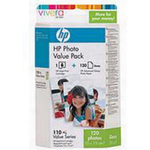 HP Q8700AE No.110 Series Photo Value Pack (120 Sheets)