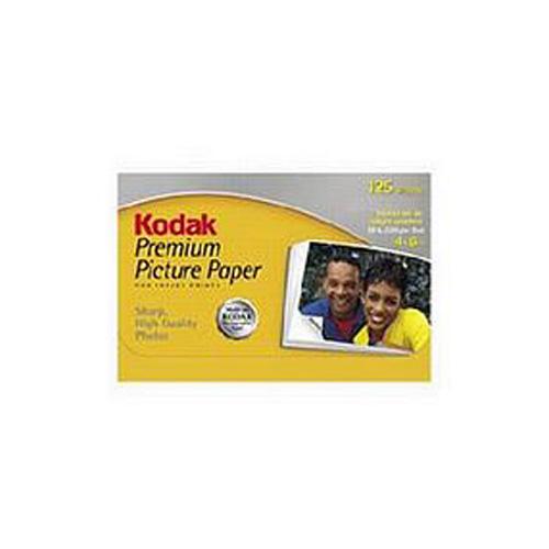 Kodak 3937752 Premium Photo Paper 10 x 15cm - 60 Sheets (240gms)