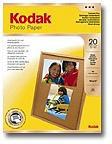 Kodak Photo Paper Gloss A4 210 x 297mm - 20 Sheets (165gsm)