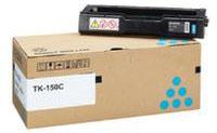 Kyocera 1T05JKCNL0 TK-150 Cyan Toner Cartridge (6,000 pages)