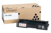 Kyocera 1T05JK0NL0 TK-150 Black Toner Cartridge (6,500 pages)
