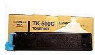 Kyocera TK-500C TK-500C Cyan Toner Kit (8,000 pages)
