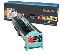 Lexmark X860H21G Black Toner Cartridge (Yield 35,000 Pages)