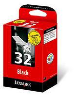 Lexmark 0080D2177 No. 32 Black Inkjet Print Cartridge