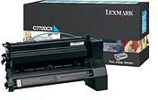 Lexmark C7720CX Cyan Return Program Print Cartridge (15,000 Pages)