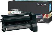 Lexmark 00C7700KS Black Return Program Print Cartridge (6,000 Pages)