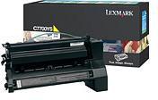Lexmark 00C7700YS Yellow Return Program Print Cartridge (6,000 Pages)
