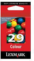 Lexmark 018C1429E Colour No. 29 Return Program Print Cartridge