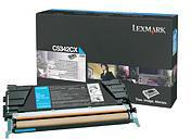 Lexmark 00C5342CX Cyan Toner Cartridge (7,000 Pages)