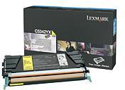 Lexmark 00C5342YX Yellow Toner Cartridge (7,000 Pages)