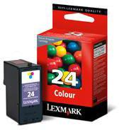Lexmark 018C1524E No 24 Colour Return Program Inkjet Cartridge