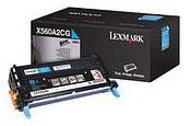 Lexmark 0X560A2CG X560 Cyan Print Cartridge (4,000 Pages)