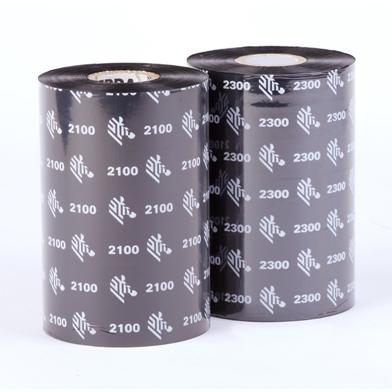Zebra 02300GS03307 2300 European Wax (33mm x 74m) Ribbon