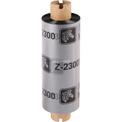Zebra 02300GS06407 2300 European Wax (64mm x 74m) Ribbon