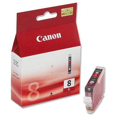 Canon 0626B001 CLI-8R Photo Ink Cartridge (Red)