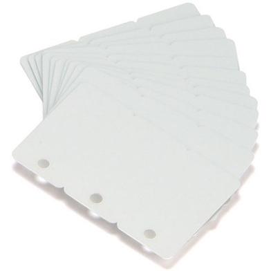 Zebra 104523-020 Premier (PVC) Blank White Cards