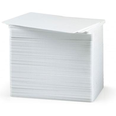 Zebra 104523-117 Premier (PVC) Blank White Cards (Writable Back)