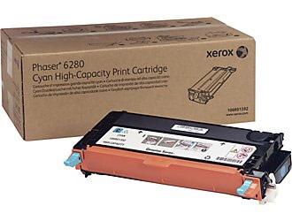 Xerox 106R01392 Cyan Hi Cap Toner Cartridge (7,000 Pages)
