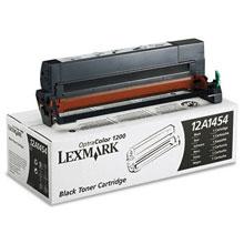 Lexmark 12A1454 Black Toner Cartridge (6,500 pages)