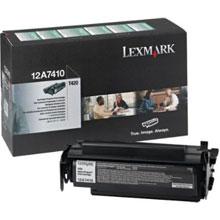 Lexmark 12A7410 Return Program Print Toner Cartridge (5,000 pages)