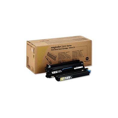 Konica Minolta 1710530-002 Yellow Toner Cartridge (7,500 pages)