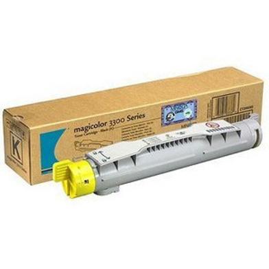 Konica Minolta 1710550-002 Yellow Toner Cartridge (6,500 pages)