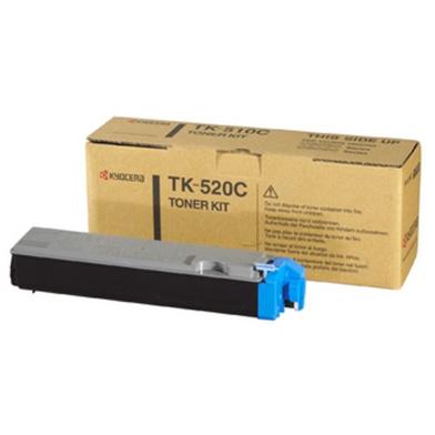 Kyocera 1T02HJCEU0 TK-520C Cyan Toner Cartridge (4000 Pages)