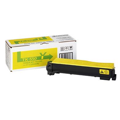 Kyocera 1T02HMAEU0 TK-550Y Yellow Toner Cartridge (6000 pages)