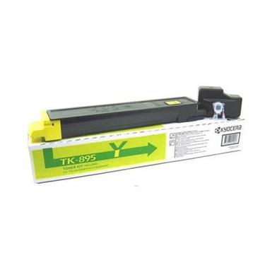 Kyocera 1T02K0ANL0 TK-895Y Yellow Toner Cartridge (6,000 pages)