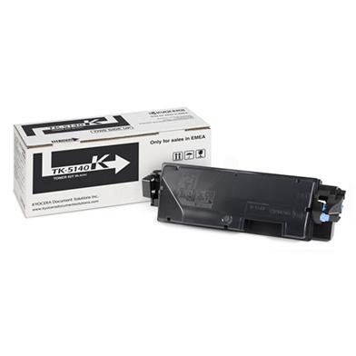 Kyocera 1T02NR0NL0 TK-5140K Black Toner Cartridge (7,000 pages)