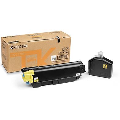 Kyocera 1T02TVANL0 TK-5270Y Yellow Toner Cartridge (6,000 Pages)