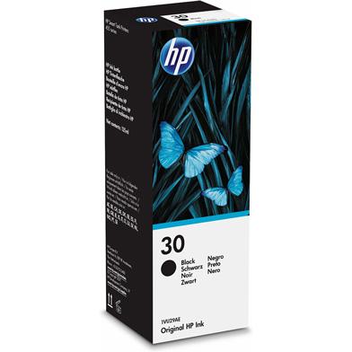HP 30 Black Ink Bottle (6,000 Pages)