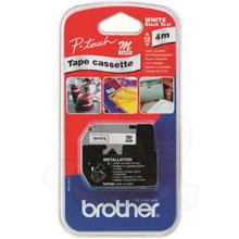 Brother M-K221SBZ 9mm Labelling Tape (BLACK ON WHITE)