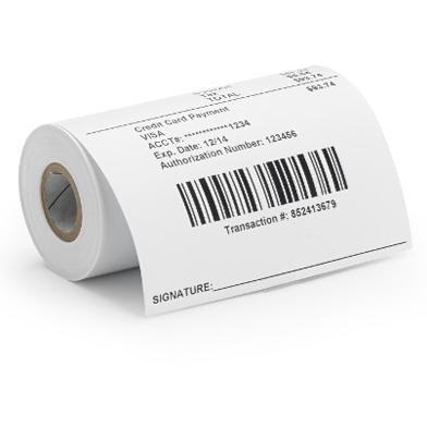 Zebra 3013254 8000D Linerless (80mm x Continuous) Label