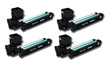 Konica Minolta  A0WG0 High Capacity Toner Value Kit CMYK (5,000 pages)