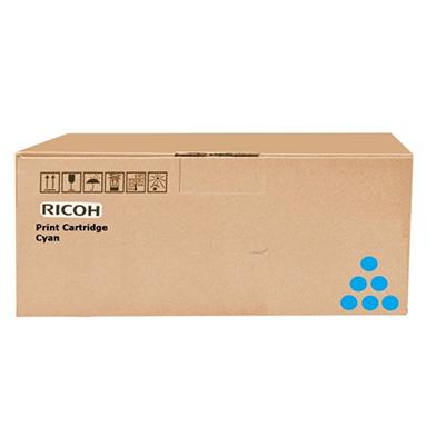 Ricoh 407136 Cyan Print Cartridge (9,300 pages)