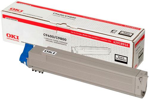 OKI 42918916 Black Toner Cartridge (15,000 pages)