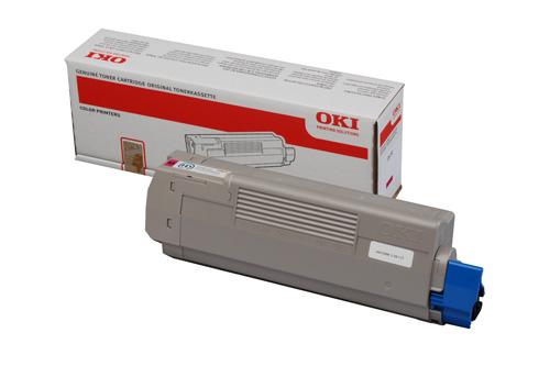 OKI 44059254 Magenta Hi-Cap Toner Cartridge (10,000 Pages)