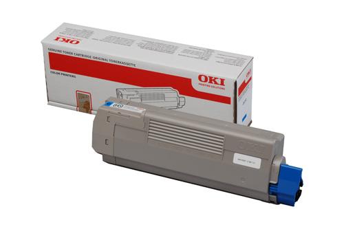 OKI 44059167 Cyan Toner Cartridge (7,300 Pages)