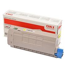 OKI 46507505 Yellow Toner Cartridge (6,000 Pages)