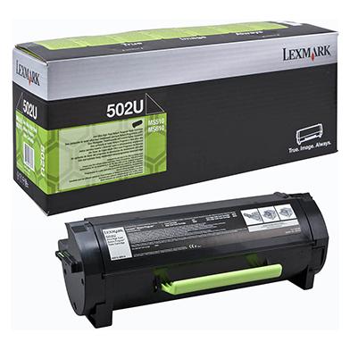 Lexmark 502U Ultra High Capacity RP Toner Cartridge (20,000 Pages)