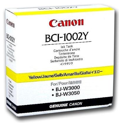 Yellow BCI-1002Y Ink Cartridge
