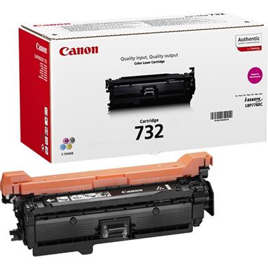 Canon 6261B002 Magenta 732 Toner Cartridge (6,400 Pages)