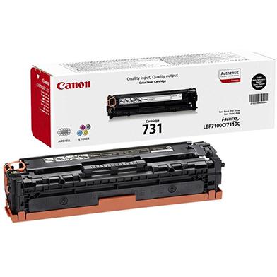 Canon 6272B002AA Black 731BK Toner Cartridge (1,400 Pages)